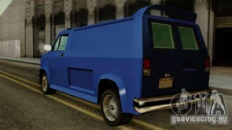 Burrito from Vice City Stories для GTA San Andreas вид слева