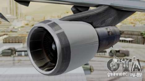Boeing 747 Southern Air для GTA San Andreas вид справа