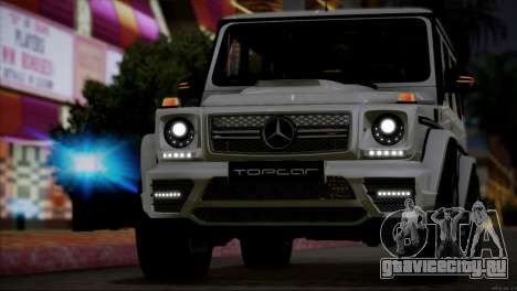 Mercedes Benz G65 AMG 2015 Topcar Tuning для GTA San Andreas вид сбоку