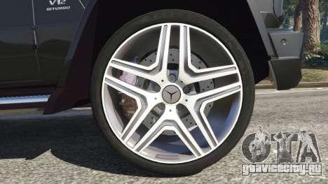 Mercedes-Benz G65 AMG v0.1 [Alpha] для GTA 5 вид сзади справа