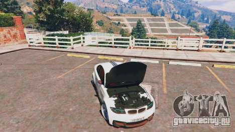 BMW 1M v1.0 для GTA 5 вид сзади