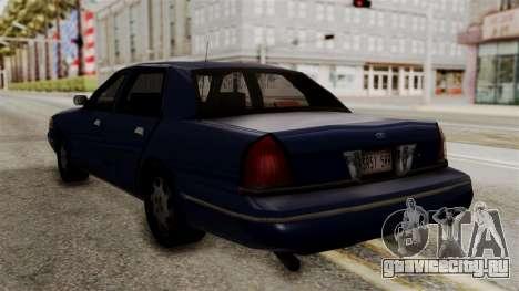 Ford Crown Victoria LP v2 Civil для GTA San Andreas вид слева