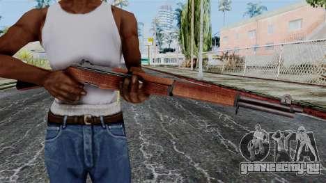 M1 Garand from Battlefield 1942 для GTA San Andreas третий скриншот
