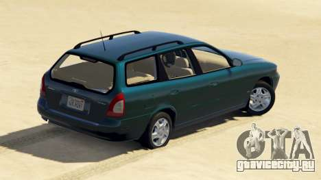 Daewoo Nubira I Wagon US 1999 - FINAL version для GTA 5 вид сзади