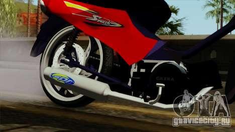 Gilera Smash для GTA San Andreas вид справа