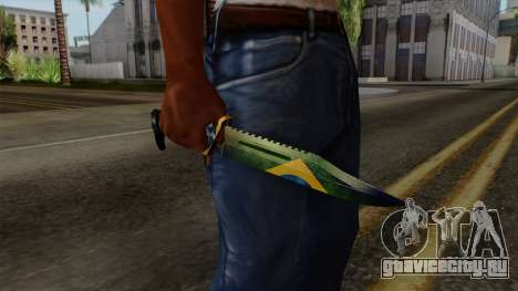 Brasileiro Knife v2 для GTA San Andreas третий скриншот