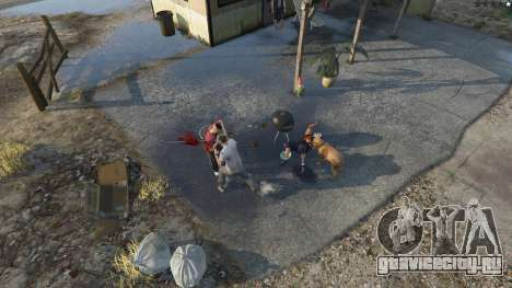 Buster Sword для GTA 5 второй скриншот