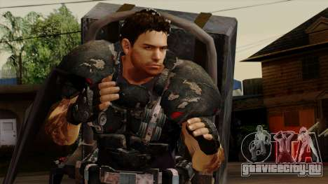 Chris Heavy Metal для GTA San Andreas