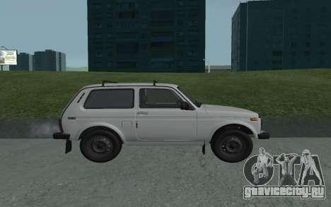 ВАЗ Нива 21213 для GTA San Andreas вид слева