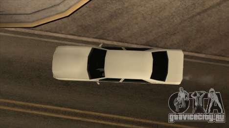 Mercedes Benz W140 S600 для GTA San Andreas вид справа