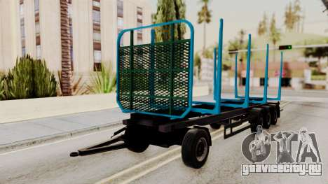 Wood Transport Trailer from ETS 2 для GTA San Andreas