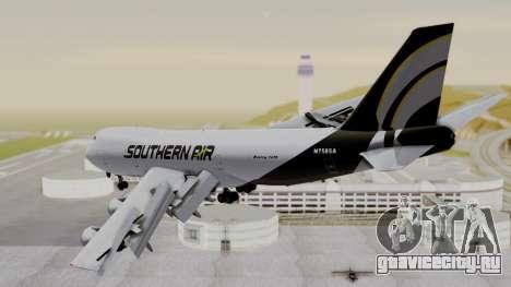 Boeing 747 Southern Air для GTA San Andreas вид слева