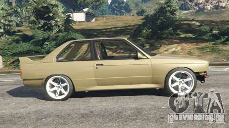 BMW M3 (E30) 1991 Drift Edition v1.0 для GTA 5 вид слева