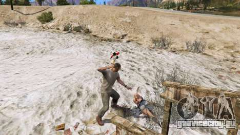 Топор из Dead Rising для GTA 5 четвертый скриншот