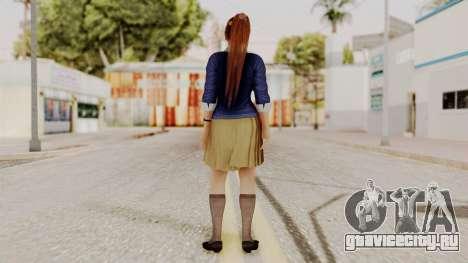 DOA 5 Kasumi Blue Sweater для GTA San Andreas третий скриншот