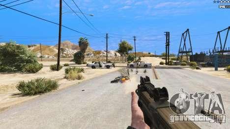 P-90 из Battlefield 4 для GTA 5 восьмой скриншот
