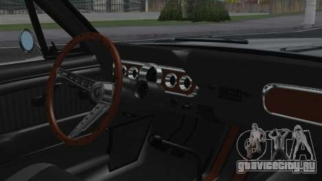Ford Mustang Fastback 289 1966 для GTA San Andreas вид справа