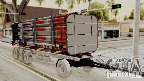 Timber Trailer from ETS 2 для GTA San Andreas