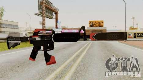 M4A1-S Cyrex для GTA San Andreas