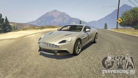 Aston Martin Vanquish V12 2015 для GTA 5