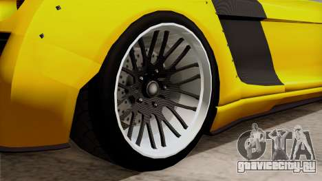 Obey 9F Liberty Works v1.0 для GTA San Andreas вид сзади слева