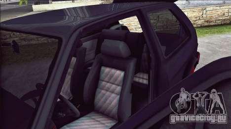 Volkswagen Golf Mk2 Line для GTA San Andreas вид сбоку