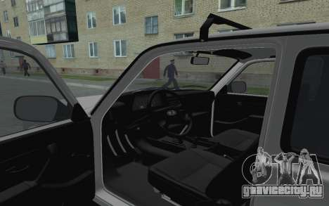 ВАЗ Нива 21213 для GTA San Andreas вид сзади