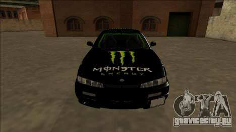 Nissan 200SX Drift Monster Energy Falken для GTA San Andreas вид сверху