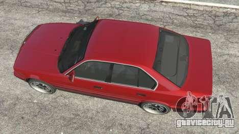 BMW 535i (E34) для GTA 5
