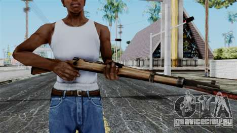 Kar98k from Battlefield 1942 для GTA San Andreas третий скриншот