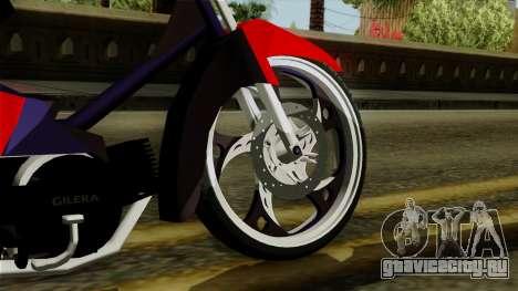 Gilera Smash для GTA San Andreas вид сзади слева