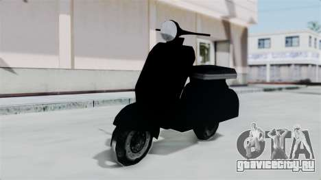 Scooter from Bully для GTA San Andreas