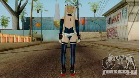Dead Or Alive 5 Marie Rose Swimsuit Blue для GTA San Andreas