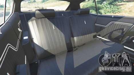 Chevrolet Chevelle SS 1970 v1.0 для GTA 5 руль и приборная панель