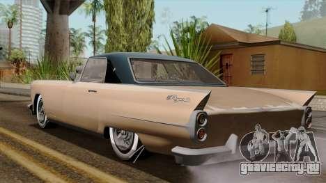 Vapid Peyote Bel-Air для GTA San Andreas вид слева