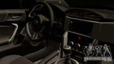 Subaru BRZ 2010 Rocket Bunny v1 для GTA San Andreas вид справа