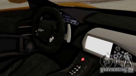 Ford GT 2016 Black Revel для GTA San Andreas вид сзади слева