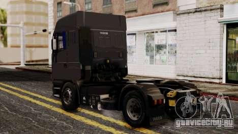 Iveco EuroStar Normal Cab для GTA San Andreas вид слева