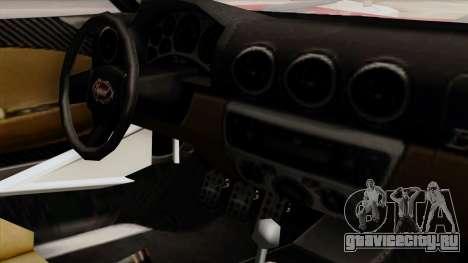 Vapid Bullet GT-GT3 для GTA San Andreas вид справа