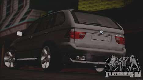 BMW X5 E53 для GTA San Andreas вид справа