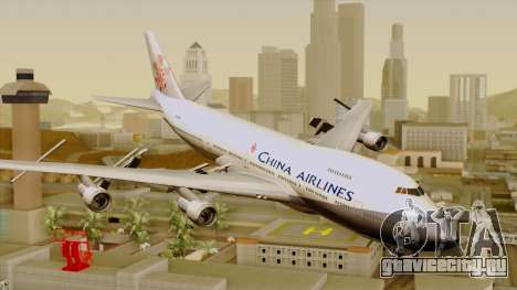 Boeing 747-200 China Airline для GTA San Andreas