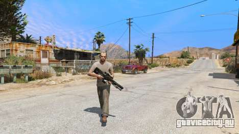 M2014 Gauss Rifle из Crysis 2 для GTA 5