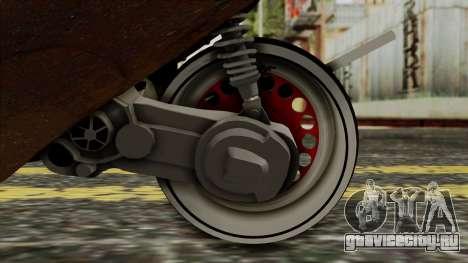 Zip SP Rat Style для GTA San Andreas вид сзади