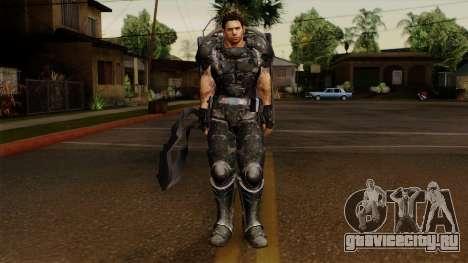 Chris Heavy Metal для GTA San Andreas второй скриншот