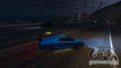 Drift HUD для GTA 5 четвертый скриншот