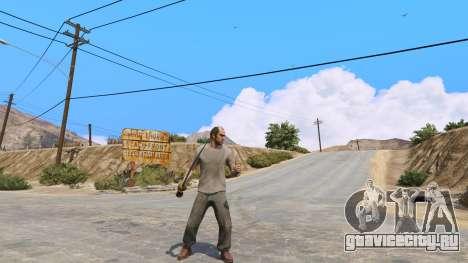 Скимитар из Skyrim для GTA 5 второй скриншот