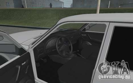 Волга ГАЗ 3110 для GTA San Andreas вид сзади