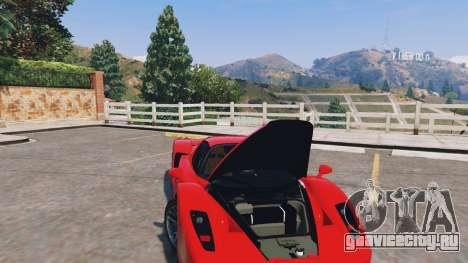 Ferrari Enzo v0.5 для GTA 5 вид справа