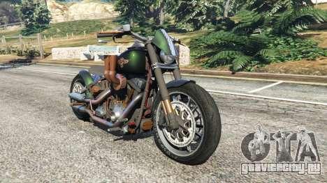 Harley-Davidson Fat Boy Lo Racing Bobber v1.1 для GTA 5