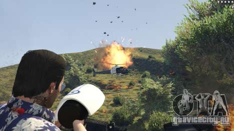 Cinematic Explosion FX 1.12a для GTA 5